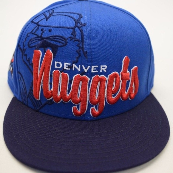 the best attitude ede4a b3a02 Men s New Era Denver Nuggets 9Fifty Snapback cap